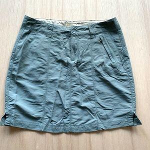 Royal Robbin Hiking Skirt Active Womens Size 6 Blu